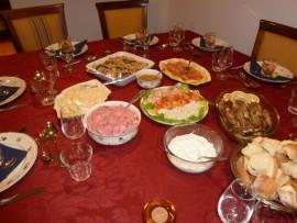 La tavola imbandita di Marianne