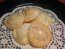 tortelloni dolci fritti ai fichi